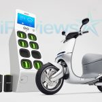 Gogoro Smartscooter and Go station