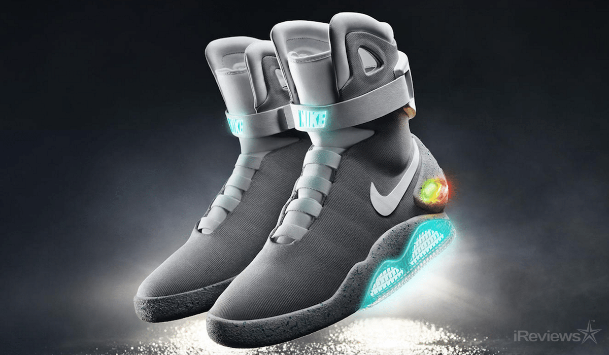 0 Nikes Back To The Future Power Lacing Shoes
