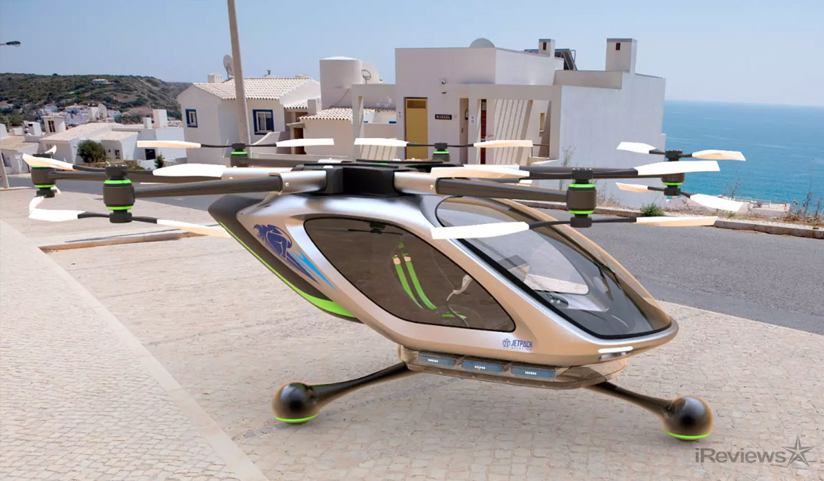 Jetpack Aviation Launching VTOL Flying Car Project ...