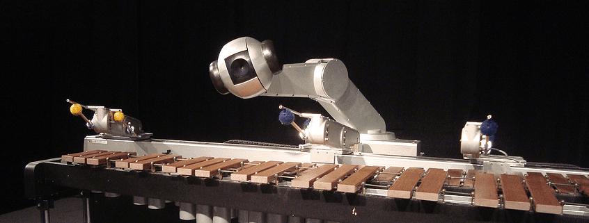 Shimon, Music, Robot, Improvise, Compose, Perform, Georgia Tech