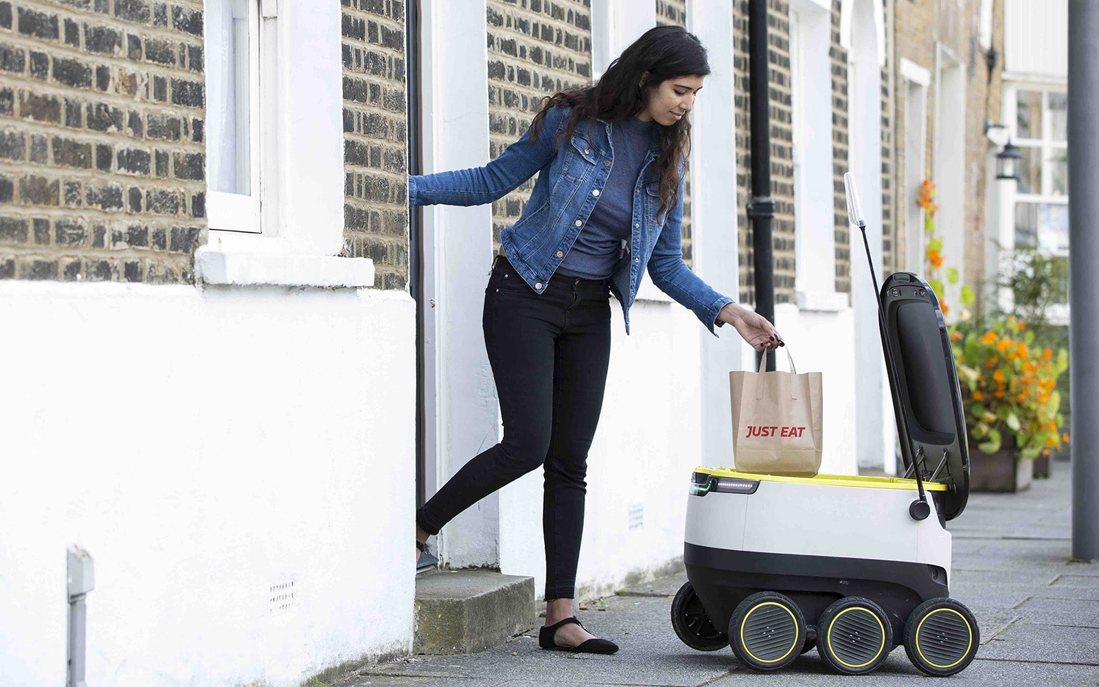 Starship Technologies, Delivery Robots, Robots, 5 states