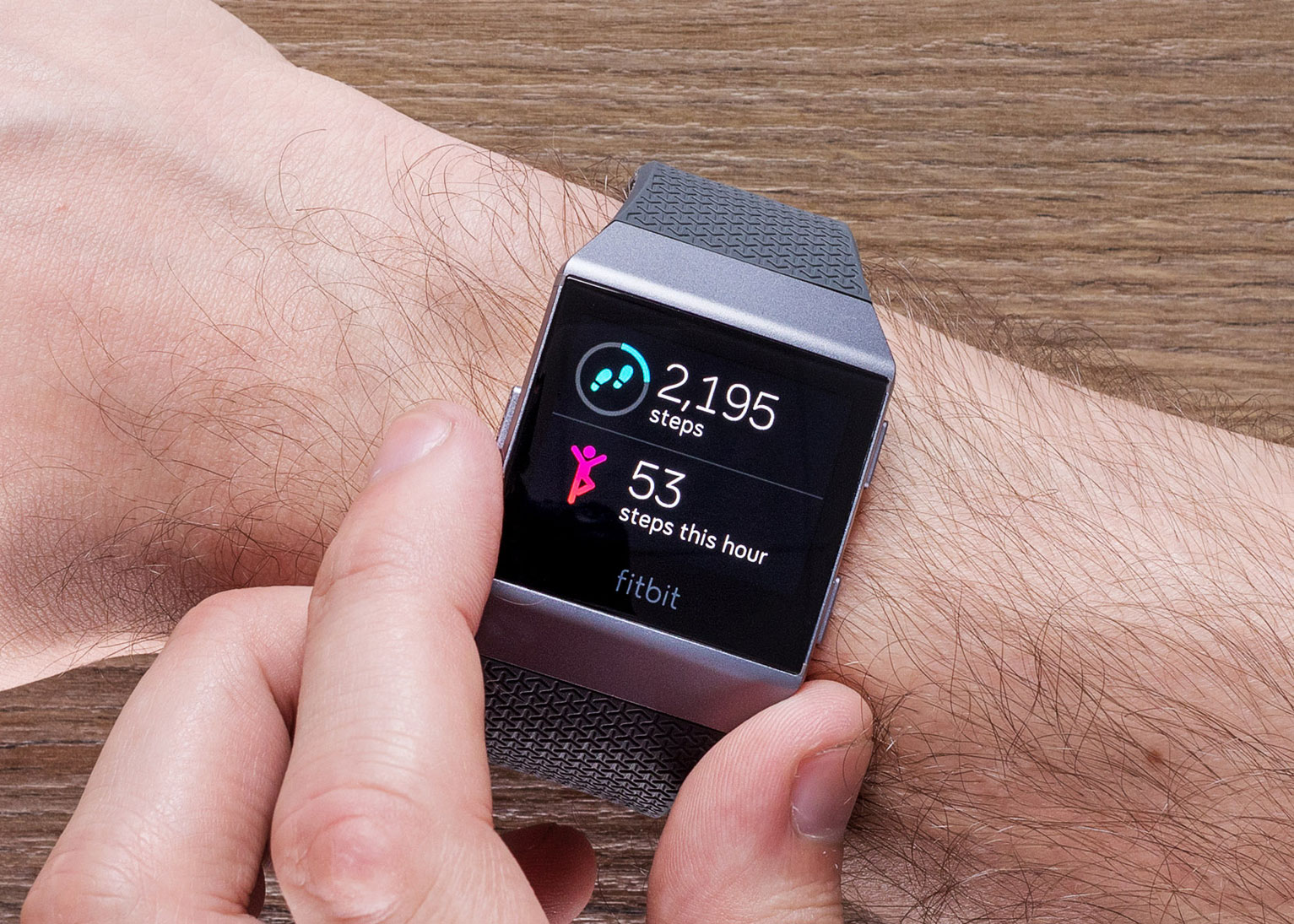 Garmin Tracking System >> The Fitbit Ionic Glucose Monitoring Smartwatch | iReviews