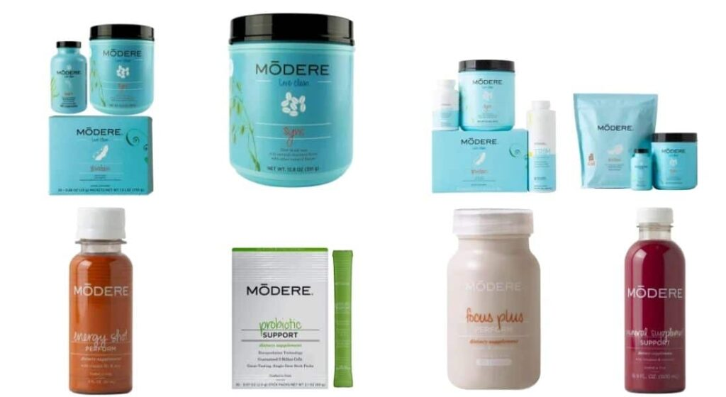 Health and Wellness Products from Modere